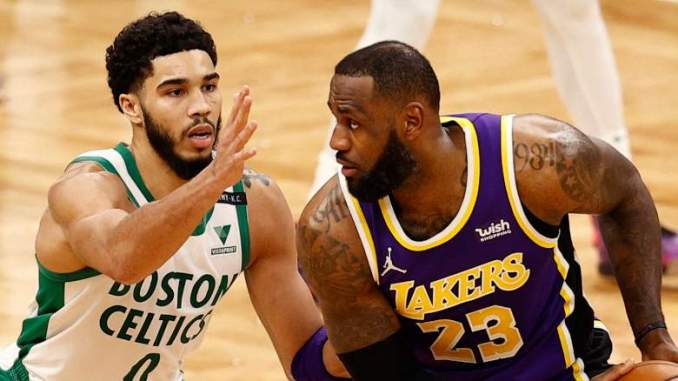Tatum Posts Cryptic Lakers Photo Hours Before Celtics Game