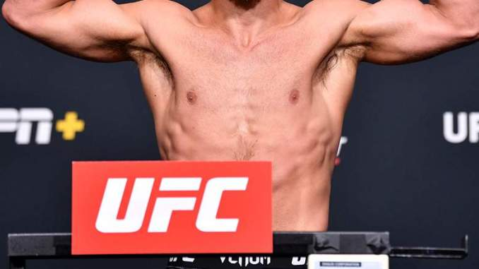UFC Star Cancels Fight After Controversial Weigh-In [WATCH]