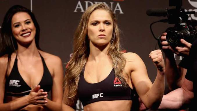 UFC Superstar Ronda Rousey's Suprise: 'I Can't Hide it Anymore'