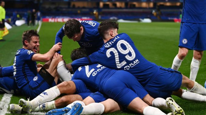 Champions League: Drogba, Fabregas react as Chelsea eliminates Real Madrid, qualify for final