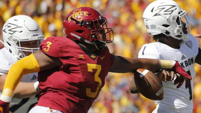 Eagles Sign Ex-Iowa State All-Time Sack Leader 'Nightmare'