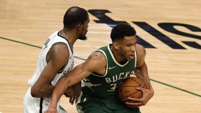 Giannis Antetokounmpo Makes Nets Pay for Bold Gesture