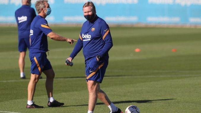 LaLiga: Barcelona manager, Koeman gets two-ban match