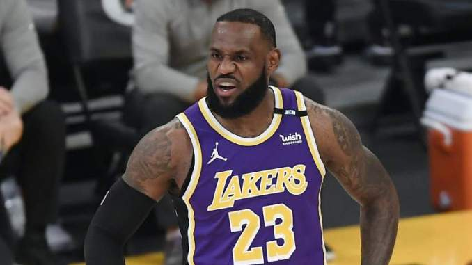 Lakers' LeBron's James Gets Blasted for Old Comments on Play-in