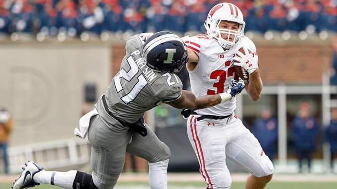 Raiders Sign Former Wisconsin RB Garrett Groshek: Report
