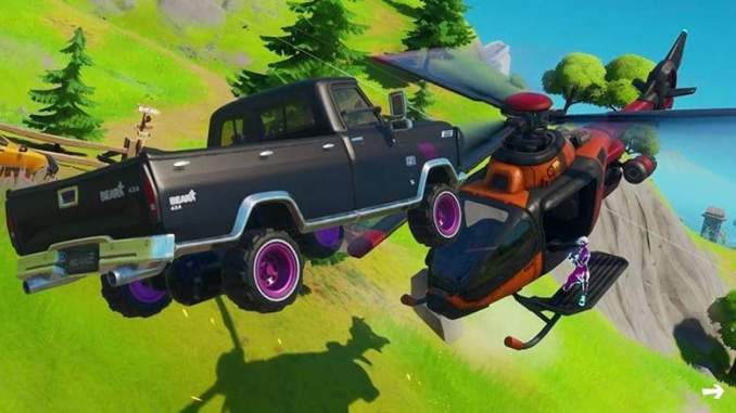 Simple Fortnite Trick Gives You Flying Car For Rotations