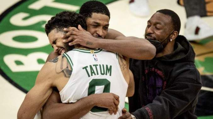 Tristan Thompson to Jayson Tatum's Son: 'Your Daddy is a Bad Man!'