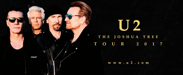 U2 celebrates 30th anniversary of 'The Joshua Tree' with 2017 Tour