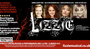 Competition: Win tickets to 'LIZZIE' at Greenwich Theatre