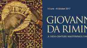 'Giovanni da Rimini: A 14th-Century Masterpiece Unveiled' opens at the National Gallery on 14 June, 2017