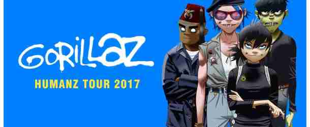 Gorillaz announce European dates for 'The Humanz Tour'