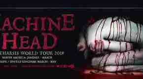 Machine Head announce 'Catharsis' World Tour 2018