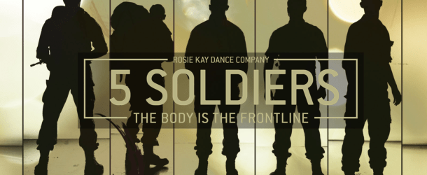 Rosie Kay Dance Company to bring '5 Soldiers' to the Golden Hillock Road Army Reserve Centre, Birmingham