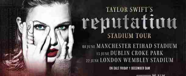 Taylor Swift announces 'reputation' U.K. & Ireland Stadium Tour