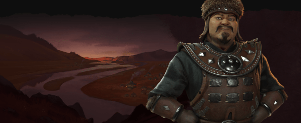 Genghis Khan to lead Mongolia in 'Civilization VI: Rise and Fall'