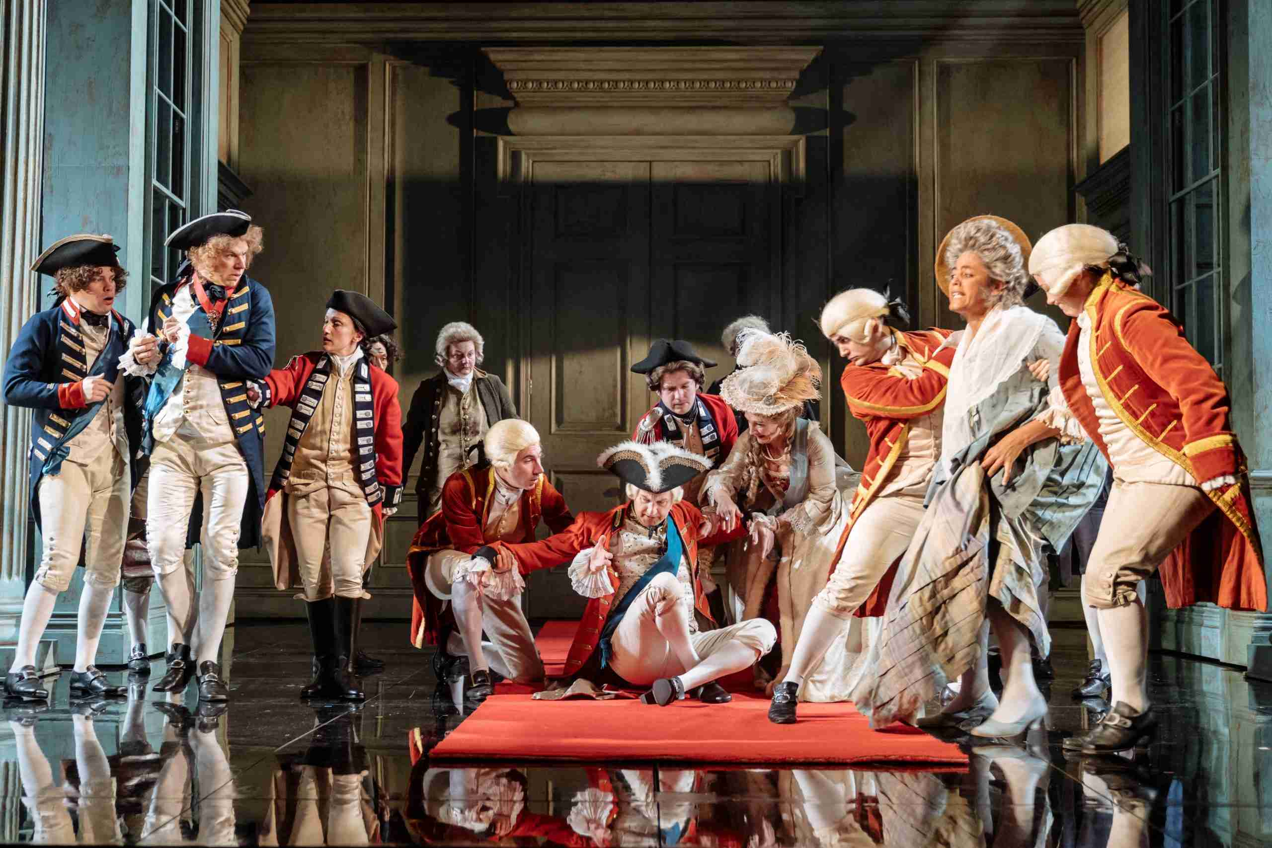 Nottingham Playhouse production of 'The Madness of George III' to ...