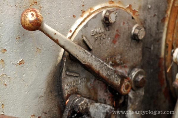 the artyologist- image of massey ferguson engine lever