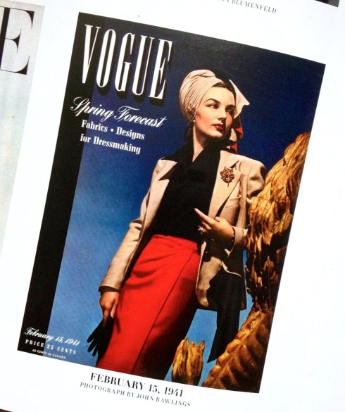 the artyologist image of vogue magazine february 15 1941