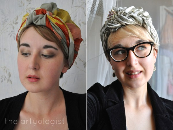 the artyologist vintage turbans