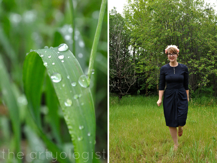 image of grass and simplicity 1777 and flower covered hat the artyologist