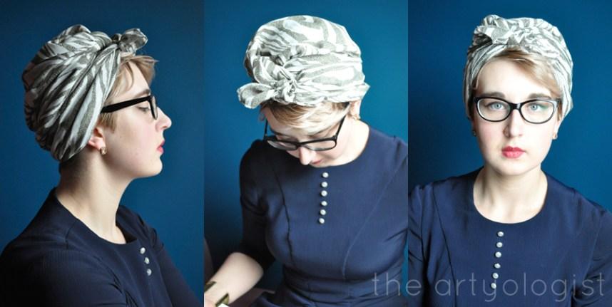 the artyologist image of vintage turbans