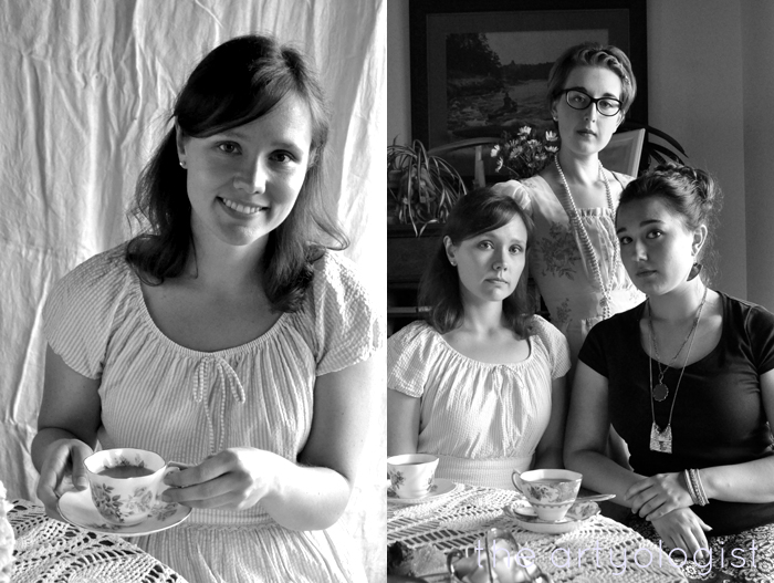 chantelle and tea party the artyologist