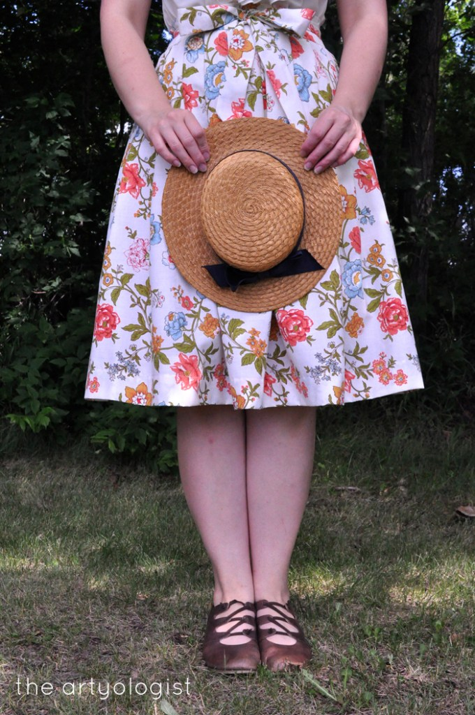 the entirely repurposed and almost vintage skirt the artyologist