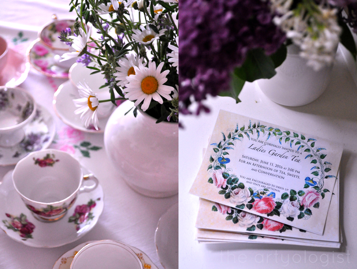 invite and teacups the artyologist