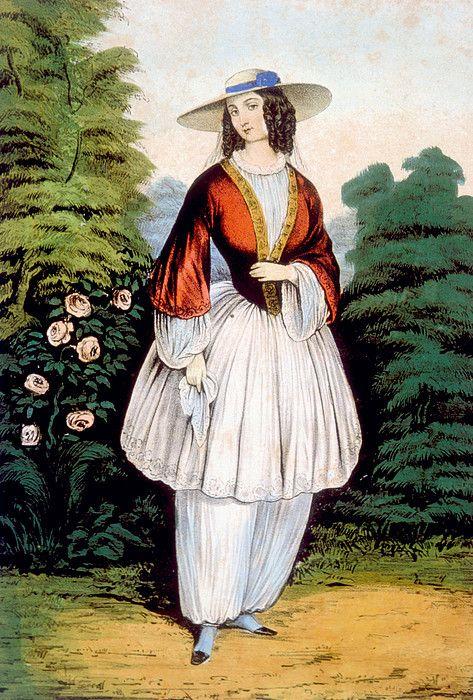Amelia Bloomer Costume