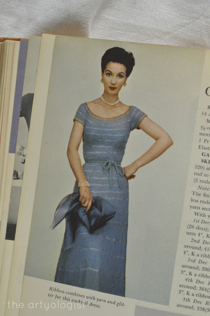blue crocheted dresses the artyologist