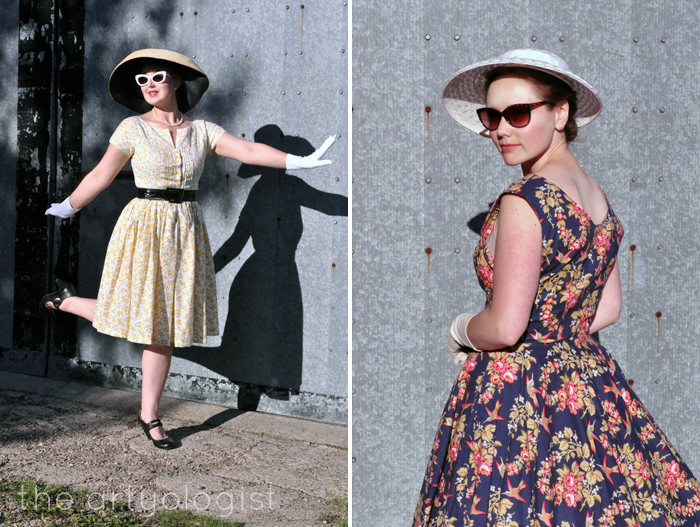 A 1950's inpsired shoot the Artyologist