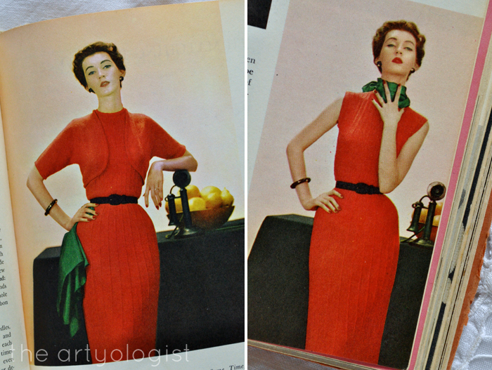 a closer look at red knitted dresses the artyologist