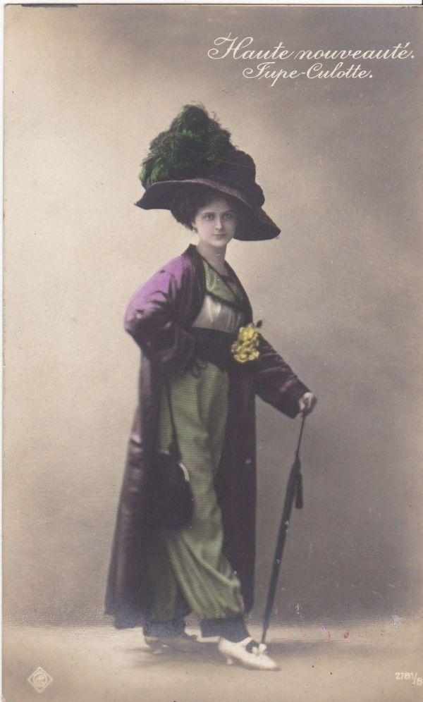 vintage_1910s_pretty_edwardian_jupe_culotte_fashion