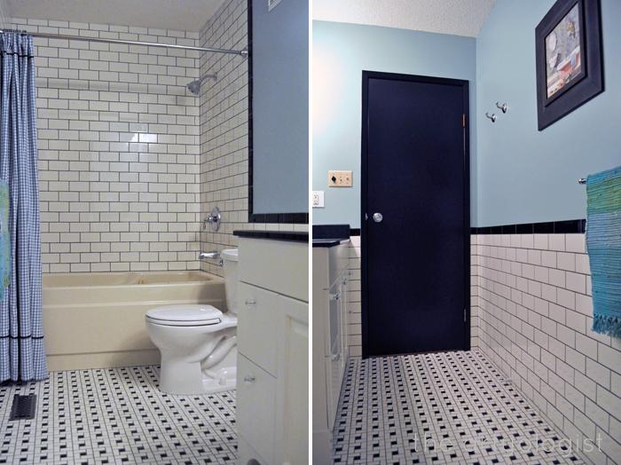 tiled bathroom, the artyologist