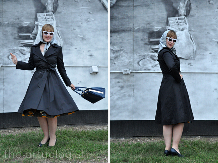 My New Hell Bunny Trench Coat, the artyologist