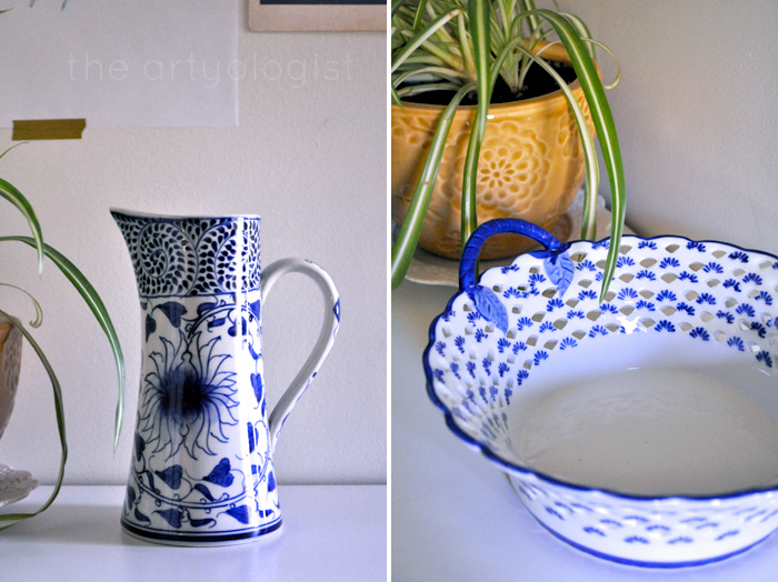 The Beginnings of a Collection: Blue and White Ceramics, the artyologist