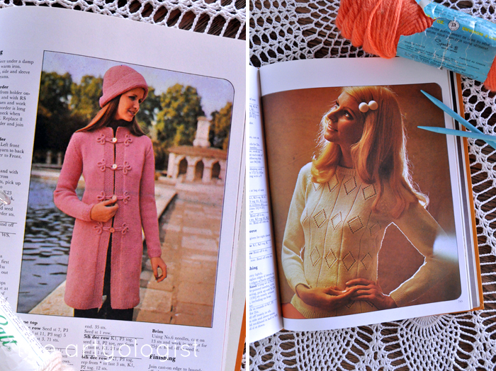 A Fashion Moment with Creative Hands, the artyologist, pink and tan knitwear