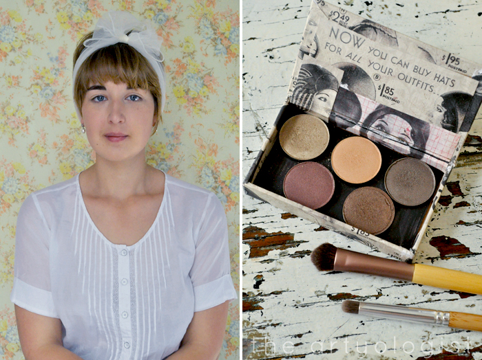 before-and-makeup, How to Create a Modern 1920's Makeup Look, the artyologist