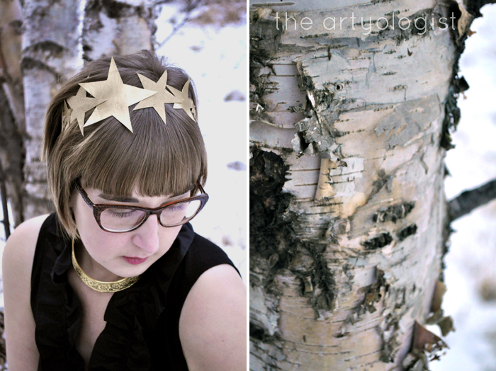 woodland queen, the-birch-and-crown, the artyologist
