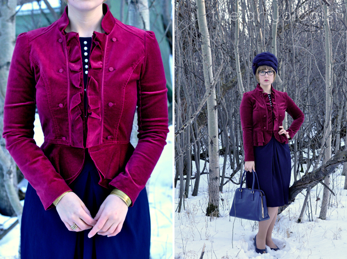 The Navy and the Redcoats, the artyologist, details and outfit
