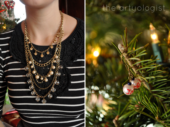 Christmas Day: A Comfy Yet Classy Outfit, the artyologist, necklace