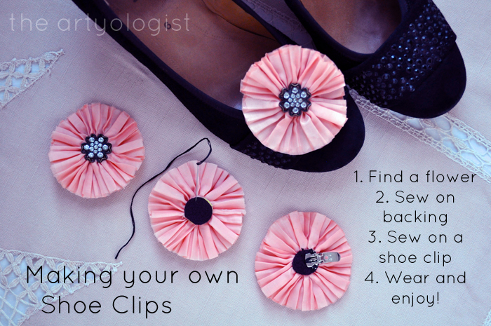 Bringing Back Coupon Busters One Pair of Shoe Clips at a Time, the artyologist, making your own shoeclips