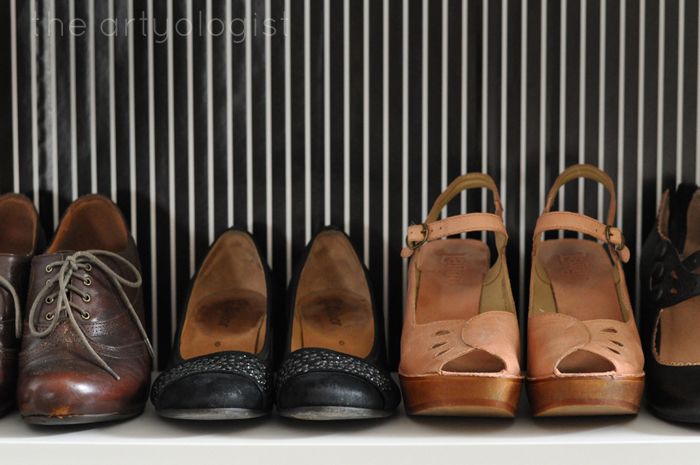 Thoughts on One Year of Blogging, the artyologist, line of shoes