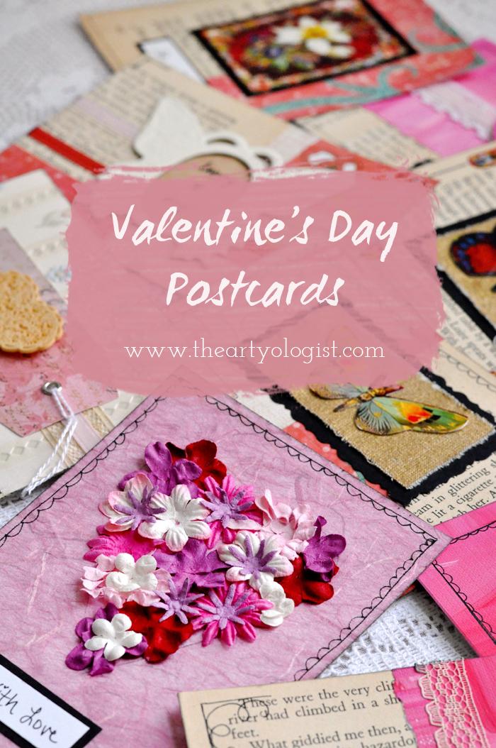 the artyologist, valentine's day postcards