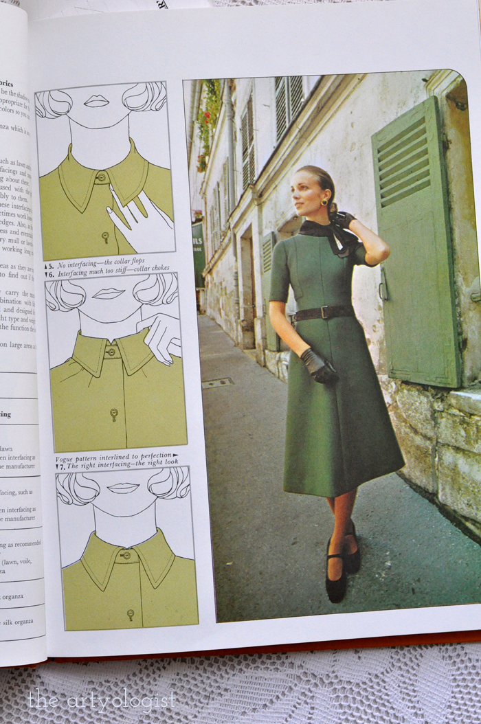 St. Patricks Day Fashion Moment Creative Hands,  green fortrel dress with collar, the artyologist
