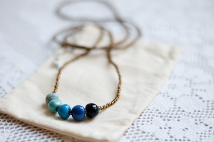 Neat Things: Fair Trade Friday, the artyologist, Papillon Marketplace necklace 2