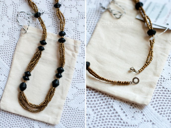 Neat Things: Fair Trade Friday, the artyologist, Have Hope Necklace