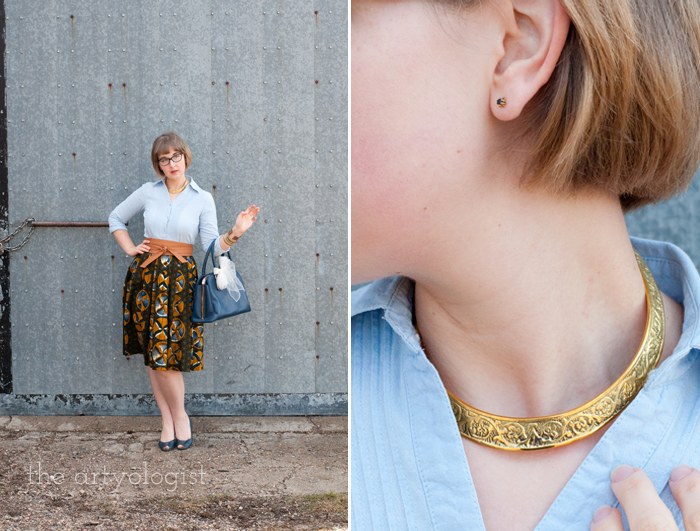 How to Start Dressing Ethically, the artyologist, jewellery details