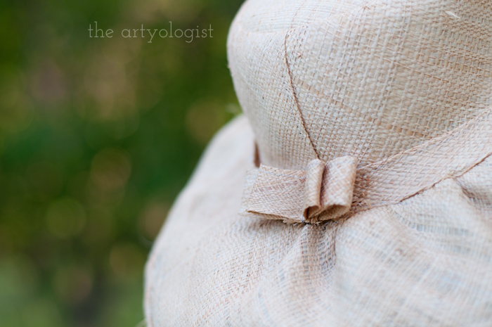 Salvaging a Sewing Project with Vogue 8789, the artyologist, hat