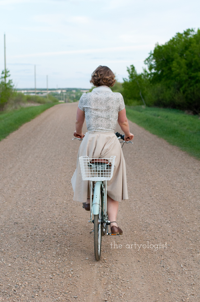 Rural Holiday, the artyologist, a roman holiday outfit, riding-away